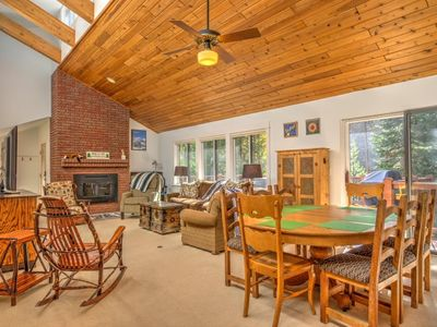 Photo for Mountain Breckenridge Vacation Home. Great layout,space, private hot tub, large deck, and spectacular ski-out with hike convenience from Burrow Trail