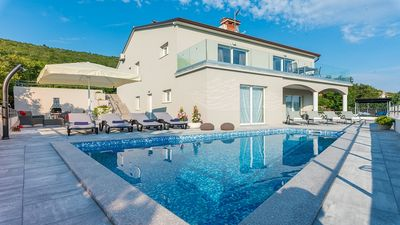 Photo for Newly Built Stylish Villa with Private Pool in a Peaceful Location with Amazing Sea Views !