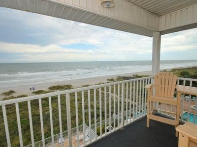 Photo for Beach Front Penthouse Corner # P with Private Elevator