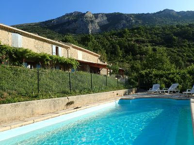 Photo for New: Charming Provençal farmhouse with exceptional panorama and exhibition