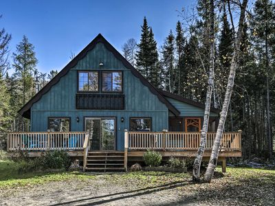 Photo for Charming Lake Placid Chalet w/ Deck & Fireplace!