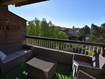 Photo for 2 ROOM APPARTMENT IN SECURED RESIDENCE WITH TERRACE / 4 PERS.