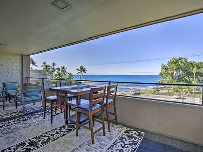 Photo for Kailua-Kona Condo w/ Ocean View Lanai!