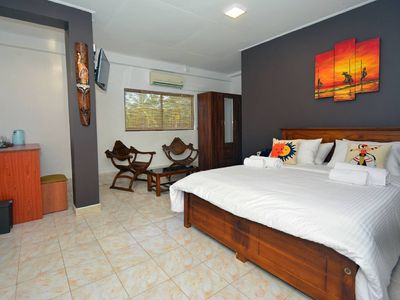 Photo for Private beach / Max 6people / 2bed room / Wifi / Gym /