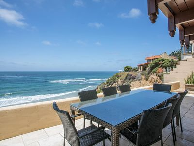 Photo for The Oceanfront Whispering Waves Solana Beach Home