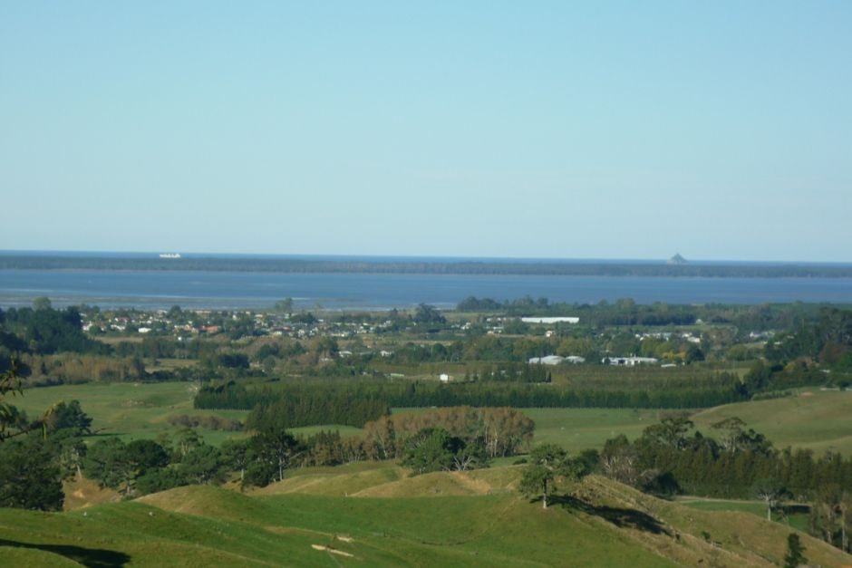 Stunning country and ocean view of bay of plenty