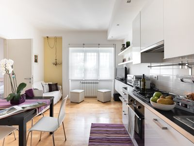 Photo for Delightful two-room apartment near the Vatican