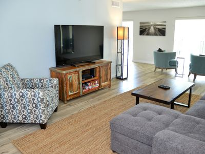 Photo for Seahorse - Spacious Beach View Condo That Sleeps 6-8 across from the Beach!