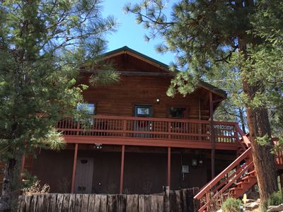 Photo for You'll love this fun cabin! Centrally located and minutes from Midtown.