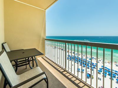 Photo for Beachside for 6! Gulf Front!☀Updated☀Inspected & Disinfected☀1BR Seychelles 907