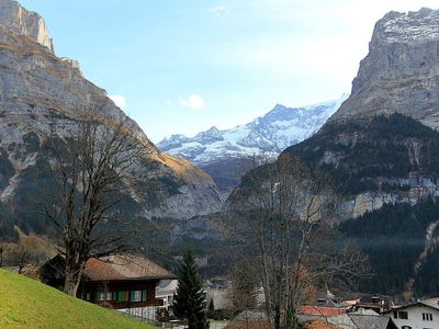Photo for Apartment in the center of Grindelwald with Parking, Internet, Washing machine, Garden (339054)