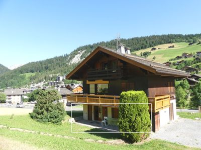 Photo for Ty menez 1 - Apartment in chalet garden level for 6 people 2*, on the ski slopes