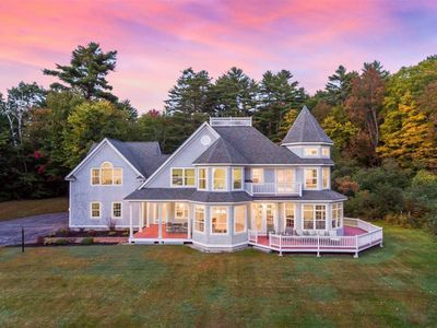 Photo for NICEST LAKEHOUSE IN MAINE -- PRIVATE BEACH -- LUXURY!