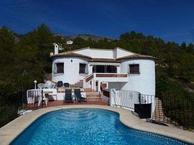 Photo for Villa With Private Pool And Spectacular Views Of Mountains