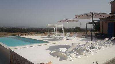 Photo for VILLA ALILA (COUNTRY HOUSE) WITH INFINITE POOL. (Up to 9 people).
