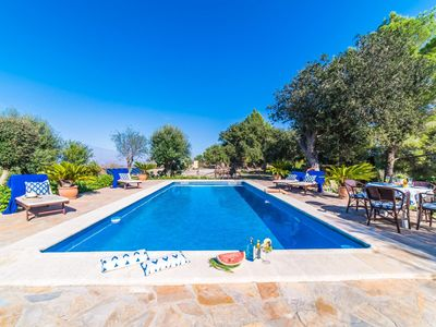 Photo for 2 bedroom Villa, sleeps 4 in Sant Joan with Pool and WiFi