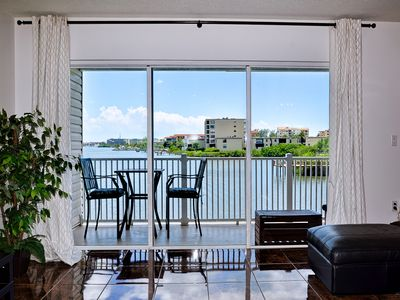 Photo for Captain's Cove 102 Pet Friendly! Waterfront Vacation Condo!