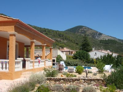 Photo for Magnificent villa with stunning views in 'Petit Nice'