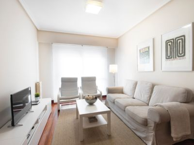 Photo for PLAZA PÍO XII, 2 HAB. 2 BATHROOMS. FREE PARKING AND WIFI