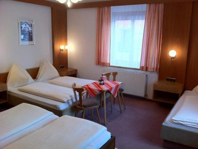 Photo for Quintuple room with shower, WC - Hotel Tautermann