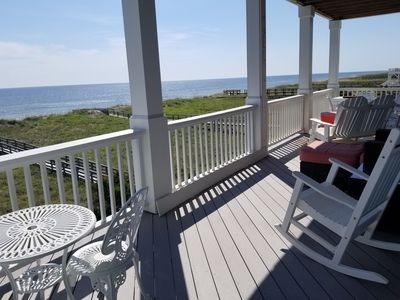 Photo for Sandy Dunes House - Gorgeous Oceanfront, 10 Beds, 2 Elevators, Parking