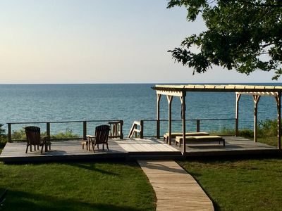 Photo for The Eagle's Nest *PRIVATE BEACH ON LAKE MICHIGAN