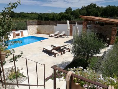 Photo for VILLA WITH PRIVATE POOL AND GARDEN, QUIET ZONE