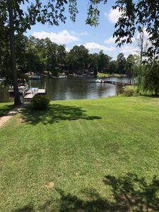 Photo for Pet and kid friendly Lakehouse with private dock