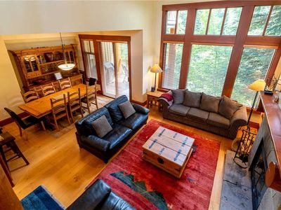 Photo for DEEP CLEANED + READY! SKI IN/OUT access! Mountain Views! Private Hot Tub&Garage!