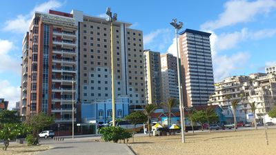 Photo for Large and comfortable apart. with balcony and great sea views of Iracema
