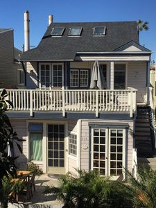 S Mission Beach100 ft to ocean sand. 10/28-11/2 open. Lg patio & beach area view