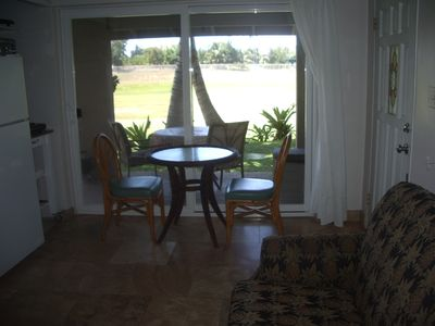 Living/ dining room and view
