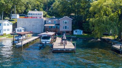 """Photo for Below the Vineyard: """"Ideal Lakeside Retreat"""""""
