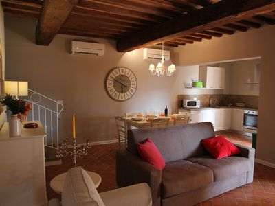 Photo for Borgo del Silence holiday stay apartment olive tree 4 km from Lajatico