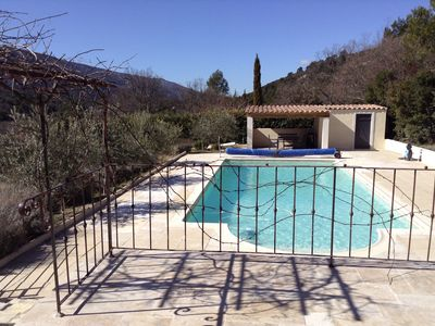 Photo for Villa In a Charming Provençal Village - Home To Château Picasso