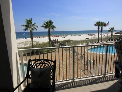 Photo for Gulf Front Views At Family Pricing 3 Br / 2 Bath, Sugar Sands WP 202