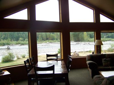 View of the River from our Great Room.