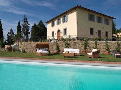 Photo for 9 bedroom Villa, sleeps 18 with Pool and Air Con