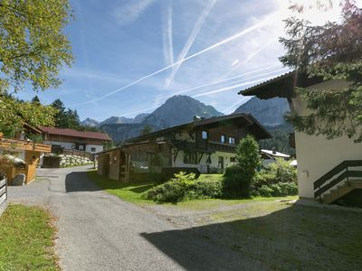 Photo for Charming Apartment in Ehrwald with Roofed Terrace
