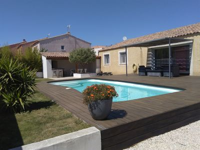 Photo for Detached villa with pool