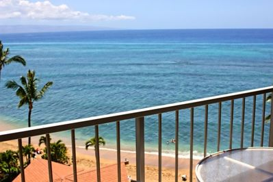 Ideal whale watching in the winter months while relaxing on your private lanai.
