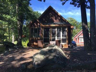 Photo for Cozy Cottage in Westford MA (Summer Village on the Pond)