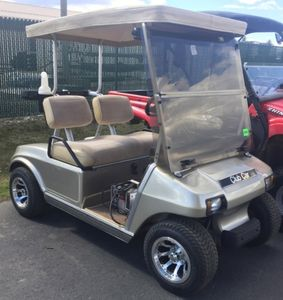 Free use of Private Electric Golf Cart brand new Batteries and Tires