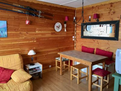 Photo for Comfortable apartment, very well equipped at the foot of the slopes