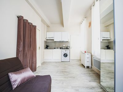 Photo for BRIGHT APARTMENT - AIX-EN-PROVENCE CENTER - 2 PEOPLE