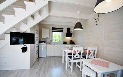 "Photo for The newly built ""White Cottage Lux"", Grzybowo in Um Kolberg, 1-6 persons"