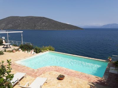 Photo for Villa-Skorponeria In Greece With Panoramic, Unobstructed View Of North Eubean Ba