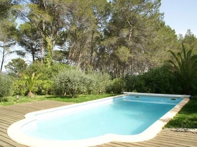 Photo for Lush Holiday Home in Draguignan with Private Garden