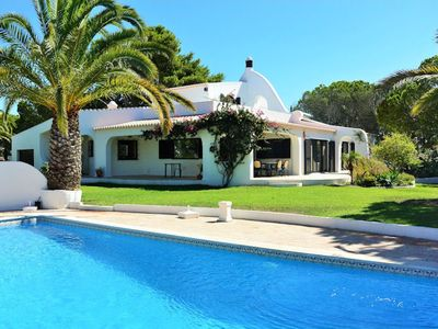 Photo for This luxury  four bedroom villa comes with its very own Tennis Court and  is ideally situated on the