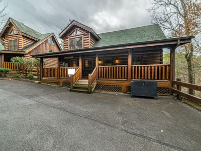 Photo for Amazing Gated Community!! The Cozy Cabin Getaway, 15 min from Gatlinburg!